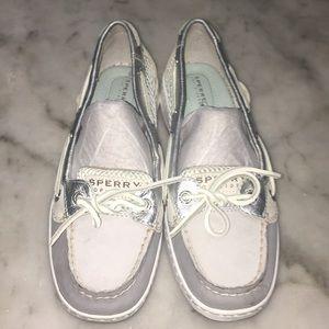 Sperry Open Mesh Angelfish Women's Shoes 7 M